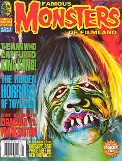 FAMOUS MONSTERS OF FILMLAND #241 ワケあり特価