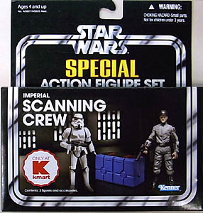 HASBRO STAR WARS 2013 THE VINTAGE COLLECTION USA KMART限定 SPECIAL ACTION FIGURE SET IMPERIAL SCANNING CREW