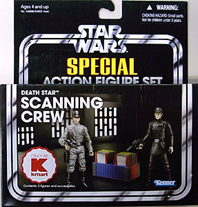 HASBRO STAR WARS 2013 THE VINTAGE COLLECTION USA KMART限定 SPECIAL ACTION FIGURE SET DEATH STAR SCANNING CREW