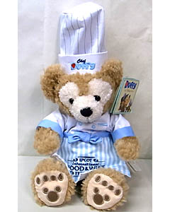 DISNEY USAディズニーテーマパーク限定 DUFFY THE DISNEY BEAR 12INCH 2013 FOOD & WINE CHEF DUFFY THE DISNEY BEAR