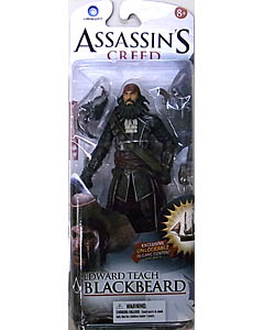 McFARLANE ASSASSIN'S CREED 6インチアクションフィギュア SERIES 1 ASSASSIN'S CREED IV GAMESTOP限定 EDWARD TEACH [BLACKBEARD] 台紙傷み特価