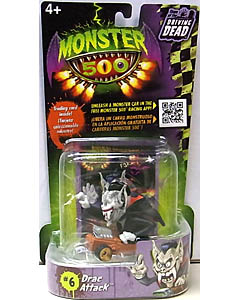 その他・海外メーカー MONSTER 500 SMALL CAR & TRADING CARD DRAC ATTACK