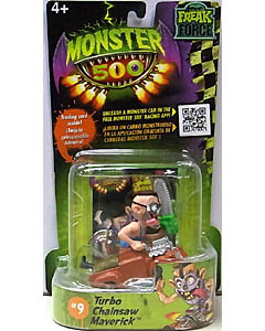 その他・海外メーカー MONSTER 500 SMALL CAR & TRADING CARD TURBO CHAINSAW MAVERICK