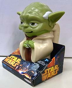 JAKKS PACIFIC STAR WARS FLASHLIGHT YODA