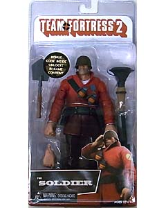 NECA PLAYER SELECT TEAM FORTRESS 2 DX 7インチアクションフィギュア THE SOLDIER