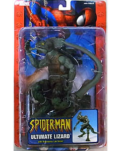 TOYBIZ SPIDER-MAN CLASSICS VILLAINS SERIES ULTIMATE LIZARD 台紙傷み特価