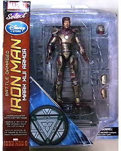 DIAMOND SELECT MARVEL SELECT USAディズニーストア限定 映画版 IRON MAN 3 IRON MAN MARK XLII ARMOR [BATTLE DAMAGED]