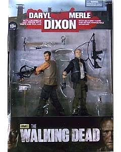 McFARLANE TOYS THE WALKING DEAD TV 5インチアクションフィギュア SERIES 4 DIXON BROTHER 2PACK