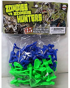 EMCE TOYS ZOMBIES VS. ZOMBIE HUNTERS 35PACK [PREVIEWS EXCLUSIVE]