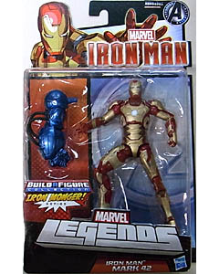 HASBRO MARVEL LEGENDS 2013 IRON MAN IRON MONGER SERIES IRON MAN MARK 42 ブリスターハガレ特価