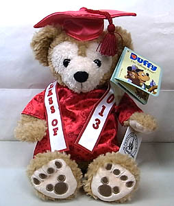 DISNEY USAディズニーテーマパーク限定 DUFFY THE DISNEY BEAR 12INCH GRADUATION DUFFY THE DISNEY BEAR 2013