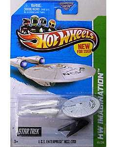 MATTEL HOT WHEELS 1/64スケール 2013 FE U.S.S. ENTERPRISE NCC-1701