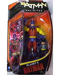MATTEL BATMAN UNLIMITED PLANET-X BATMAN AND BAT-MITE
