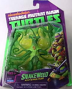 PLAYMATES NICKELODEON TEENAGE MUTANT NINJA TURTLES ベーシックフィギュア SNAKEWEED