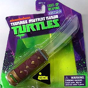 WICKED COOL TOYS NICKELODEON TEENAGE MUTANT NINJA TURTLES LIGHT-UP WEAPONS LEONARDO