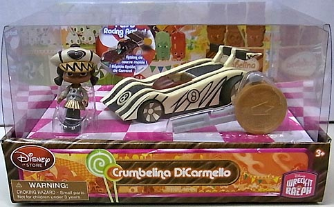 USAディズニーストア限定 WRECK-IT RALPH シュガーラッシュ RACER & RACE CAR CRUMBELINA DICARMELLO