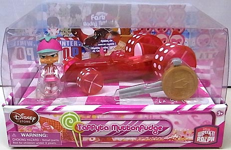 USAディズニーストア限定 WRECK-IT RALPH シュガーラッシュ RACER & RACE CAR TAFFYTA MUTTONFUDGE