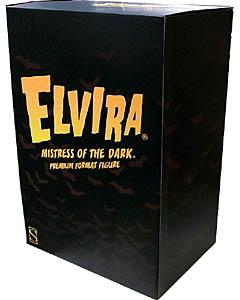 SIDESHOW PREMIUM FORMAT ELVIRA IN COFFIN