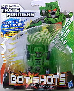 HASBRO TRANSFORMERS BOT SHOTS FLIP SHOT DECEPTICON BRAWL