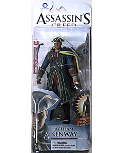 McFARLANE ASSASSIN'S CREED 6インチアクションフィギュア SERIES 1 ASSASSIN'S CREED III HAYTHAM KENWAY