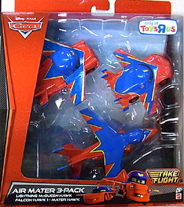 MATTEL CARS TAKE FLIGHT USA TOYSRUS限定 AIR MATER 3-PACK
