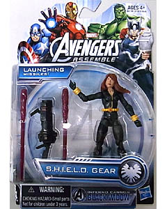 HASBRO AVENGERS ASSEMBLE 3.75インチ INFERNO CANNON BLACK WIDOW