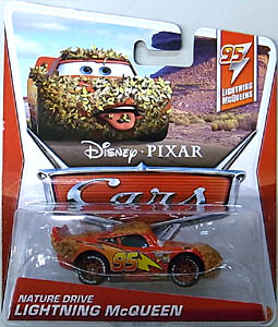 MATTEL CARS 2013 シングル NATURE DRIVE LIGHTNING McQUEEN 台紙破れ特価