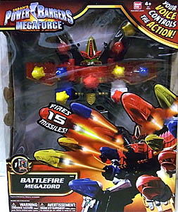 USA BANDAI POWER RANGERS MEGAFORCE BATTLEFIRE MEGAZORD