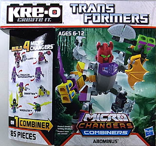 HASBRO KRE-O TRANSFORMERS KREON MICRO CHANGERS COMBINERS ABOMINUS