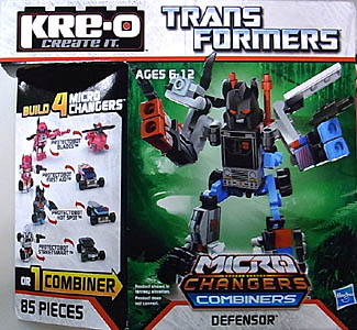 HASBRO KRE-O TRANSFORMERS KREON MICRO CHANGERS COMBINERS DEFENSOR