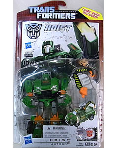 HASBRO TRANSFORMERS GENERATIONS DELUXE CLASS HOIST [COMIC BOOK INCLUDED]