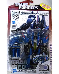 HASBRO TRANSFORMERS GENERATIONS DELUXE CLASS THUNDERCRACKER [COMIC BOOK INCLUDED]
