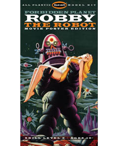 POLAR LIGHTS 1/12スケール FORBIDDEN PLANET ROBBY THE ROBOT [MOVIE POSTER EDITION] 組み立て式プラモデル