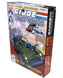 2013年 サンディエゴ・コミコン限定 HASBRO G.I.JOE AND THE TRANSFORMERS THE EPIC CONCLUSION PACK