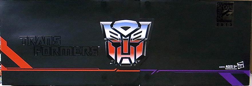 2013年 サンディエゴ・コミコン限定 HASBRO TRANSFORMERS TITAN GUARDIANS 5PACK