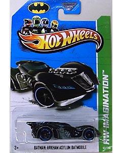 MATTEL HOT WHEELS 1/64スケール 2013 HW IMAGINATION BATMAN: ARKHAM ASYLUM BATMOBILE #063