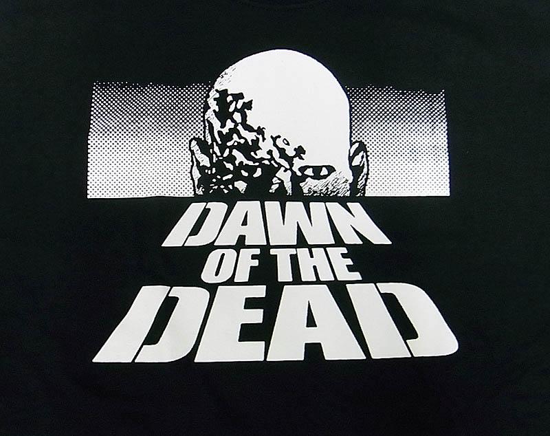 「ゾンビ」 DAWN OF THE DEAD /ポスターデザイン(黒)バックプリント