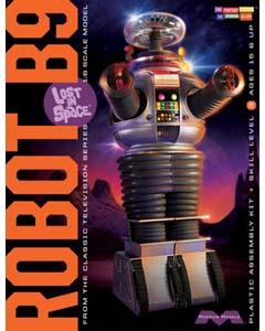 メビウスモデル 1/6スケール 宇宙家族ロビンソン B-9 ロボット フライデー 組み立て式プラモデル パッケージ傷み特価