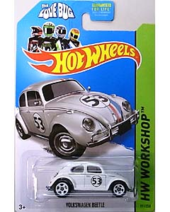 MATTEL HOT WHEELS 1/64スケール 2014 HW WORKSHOP THE LOVE BUG VOLKSWAGEN BEETLE #191