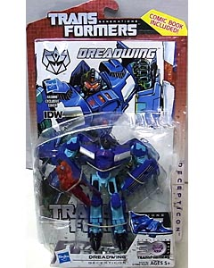 HASBRO TRANSFORMERS GENERATIONS DELUXE CLASS DREADWING [COMIC BOOK INCLUDED]