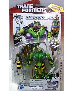 HASBRO TRANSFORMERS GENERATIONS DELUXE CLASS WASPINATOR [COMIC BOOK INCLUDED]