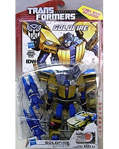 HASBRO TRANSFORMERS GENERATIONS DELUXE CLASS GOLDFIRE [COMIC BOOK INCLUDED]