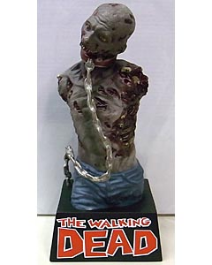 DIAMOND SELECT THE WALKING DEAD COMIC BUST BANK MICHONNE'S PET ZOMBIE