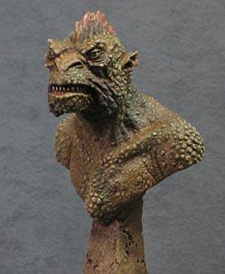 トニー・マクベイ 金星竜 胸像