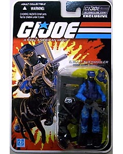 HASBRO G.I.JOE CLUB EXCLUSIVE S.W.A.T. K-9 HANDLER [WIDE SCOPE]