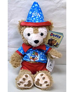 DISNEY USAディズニーテーマパーク限定 DUFFY THE DISNEY BEAR 12INCH DATED 2014 DUFFY THE DISNEY BEAR