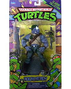 PLAYMATES TEENAGE MUTANT NINJA TURTLES CLASSIC COLLECTION 6インチアクションフィギュア ROCKSTEADY