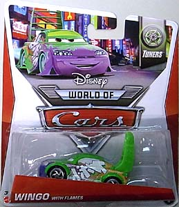MATTEL CARS 2014 シングル WINGO WITH FLAMES