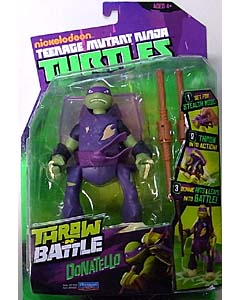 PLAYMATES NICKELODEON TEENAGE MUTANT NINJA TURTLES THROW AND BATTLE DONATELLO