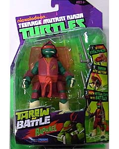 PLAYMATES NICKELODEON TEENAGE MUTANT NINJA TURTLES THROW AND BATTLE RAPHAEL